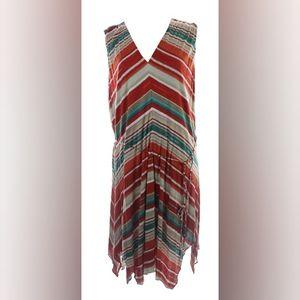 Lauren Ralph Lauren Printed Handkerchief Dress 3X